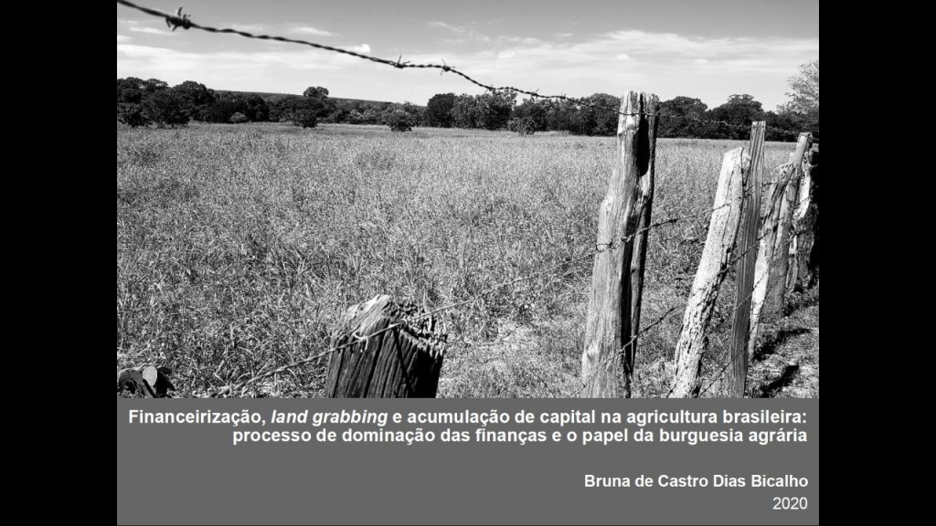 Defesa de Tese de Bruna de Castro Dias Bicalho